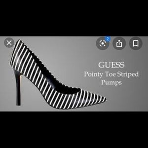 Guess Striped Heels